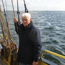 Marine artist Willem Eerland